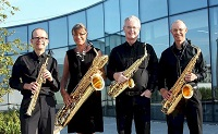 The SF Saxophone Quartet in Yorkshire and the Humber