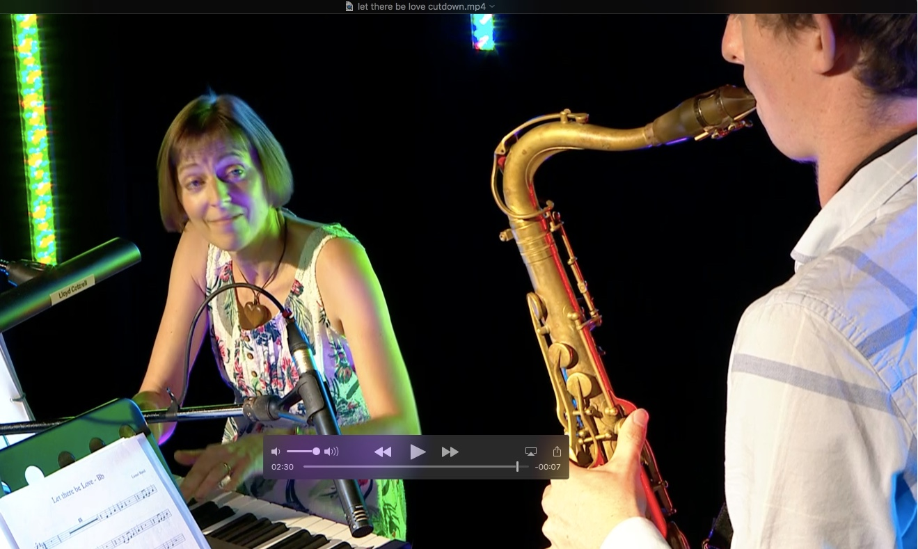 The TC Jazz Duo in Gloucestershire