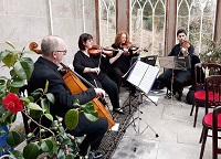 The SC String Quartet in Berwickshire