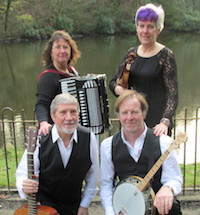The HF Barn Dance and Ceilidh Band in Cumbria