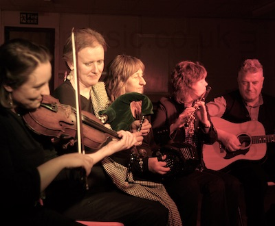 The NL Ceilidh Band in Cumbria