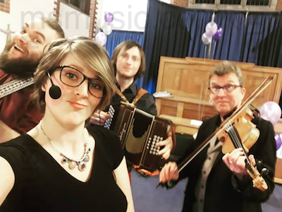 The HT Ceilidh Band in Devon