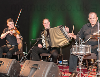 The HS Ceilidh Band in Berwickshire