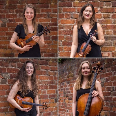 The Aritimi String Quartet in Buckinghamshire