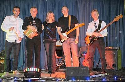 Ashes Barn Dance Band in Devon